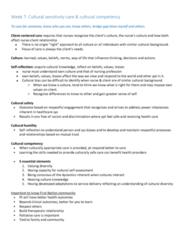 NURS 101 Lecture Notes - Lecture 7: Palliative Care, Cultural Bias, Therapeutic Relationship