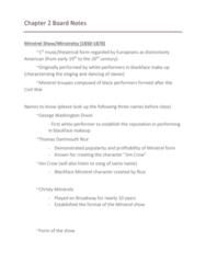 MUSI 102 Lecture Notes - Lecture 2: George Washington Dixon, Counter-Melody, John Philip Sousa