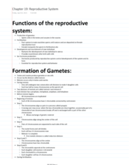 ES 207 Chapter Notes - Chapter 19: Sloughing, Cryptorchidism, Semen Analysis