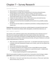 PSYC 217 Chapter Notes - Chapter Chapter 7: Nonprobability Sampling, Response Bias, Sampling Error