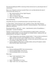 PSYC1003 Lecture Notes - Lecture 10: Circadian Rhythm, Jet Lag, Melatonin