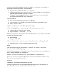 PSYC1003 Lecture Notes - Lecture 22: Functional Fixedness, Cognitive Style, Emergentism