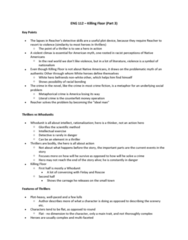 ENG 112 Lecture Notes - Lecture 3: Noble Savage, Daniel Bryan, Bell Hooks