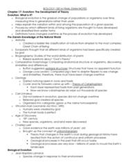 Biology 1201A Study Guide - Final Guide: Mutational Meltdown, Pleiotropy, Dihybrid Cross