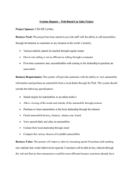 BUSI 3402 Lecture Notes - Lecture 3: Customer Satisfaction, Carmax