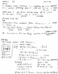 STAT333 Lecture Notes - Lecture 8: Gambling, Stochastic Process