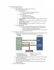 FIN 357 Lecture Notes - Lecture 1: Cash Flow, Current Liability, Capital Budgeting