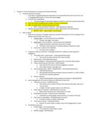 FIN 357 Lecture Notes - Lecture 3: Financial Statement Analysis, Inventory Turnover, Asset Turnover