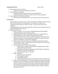 SOC 111 Lecture Notes - Lecture 2: Margaret Mead, Franz Boas, Arapesh Languages