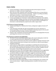 PSYC 2400 Chapter Notes - Chapter 1: Intellectual Disability, Debriefing, Socalled