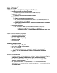 LING316 Lecture Notes - Lecture 7: Diphthong, Newfoundland English, Thirteen Colonies
