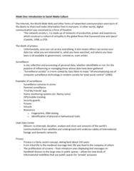 Digital Communication 2001A/B Lecture Notes - Lecture 12: Web 2.0, Antivirus Software, User-Generated Content