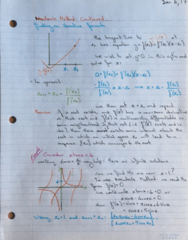 MATH 119 Lecture 2: Newton's Method Continued, Fixed-Point Iteration