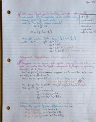 MATH 119 Lecture 3: Polynomial Interpolation