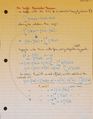 MATH 119 Lecture 6: The Taylor Remainder Theorem