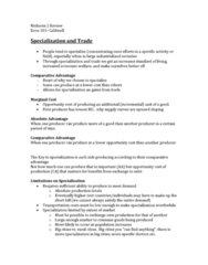 ECON 101 Study Guide - Midterm Guide: Variable Cost, Production Function, Hitech