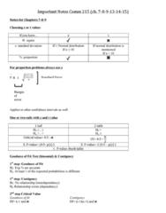 COMM 215 Chapter Notes - Chapter 7-15: Tachykinin Receptor 1, Standard Deviation, Normal Distribution