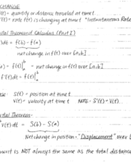 MATH 20B Lecture 2: Net Change & Integration Using Substitution