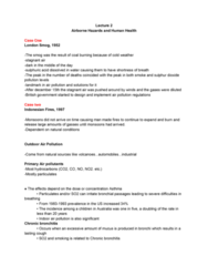 EESA10H3 Lecture Notes - Lecture 2: Permanent Press, Radioactive Decay, Mesothelioma