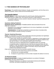 PSYC 1000 Chapter 1-20: FULL SET PSYC 1000 NOTES (PDF) (1) copy