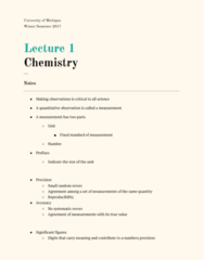 CHEM 130 Lecture Notes - Lecture 1: Significant Figures, Reproducibility, Decimal Mark