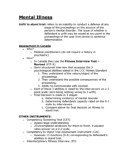 PSYC 2400 Lecture Notes - Lecture 6: Insanity Defense, Mental Disorder