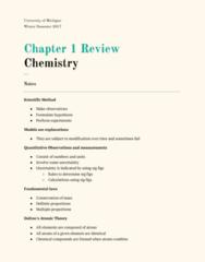 CHEM 130 Chapter Notes - Chapter 1: Plum Pudding Model, Atomic Nucleus, Robert Andrews Millikan