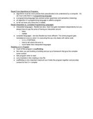 ENGR 101 Lecture Notes - Lecture 12: Special Functions, Operand, Standard Streams