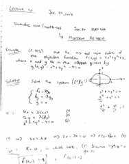 MATH 105 Lecture 10: lecture 10 math 105