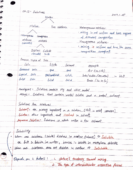 CHEM 102 Lecture 4: 1/25 Lecture: Solution - 1