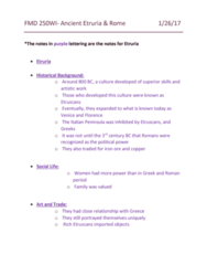 FMD 250 Lecture Notes - Lecture 4: Loincloth, Tassel, Undergarment