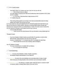 INTE 398 Lecture Notes - Lecture 3: Social Epidemiology