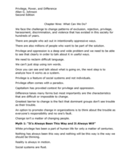 S W 325 Chapter Notes - Chapter 9: Twelve-Step Program, White Privilege, Pay Attention