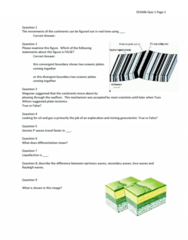 EESA10H3 Study Guide - Midterm Guide: Ophiolite, Kimberlite, Metamorphic Rock