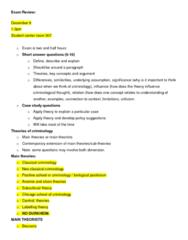 CRIM 2650 Study Guide - Midterm Guide: Frank Tannenbaum, Matzo, General Strain Theory