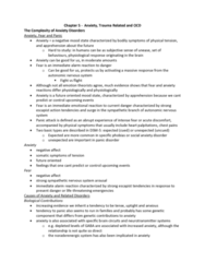 Psychology 2030A/B Chapter Notes - Chapter 5: Fusio, Adjustment Disorder, Eye Movement Desensitization And Reprocessing