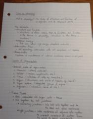 BIOL273 Lecture Notes - Lecture 1: Elastic Fiber, Brown Rat, Fallopian Tube