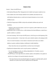 SPED 08130 Lecture Notes - Lecture 4: Due Process, Assistive Technology, Individualized Education Program