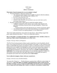 ASTU 100 Lecture Notes - Lecture 13: Albendazole, Intestinal Parasite Infection, Gratefulness