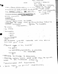 SPAN201 Lecture 10: Don Manuel Notes