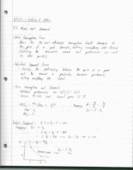 EC 301 Lecture Notes - Lecture 8: Engel Curve