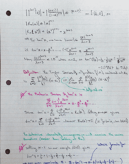 MATH 119 Lecture 9: Defining the Taylor Series as a Limit