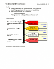 SGMA 591 Lecture Notes - Lecture 3: Dynamic Capabilities, Competitive Advantage, Main Source