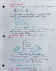 MATH 119 Lecture 10: Infinite series, Convergence Tests Part1
