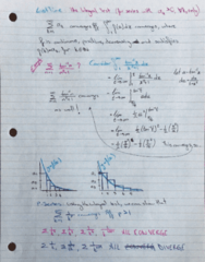 MATH 119 Lecture 11: Tests for Convergence Part2