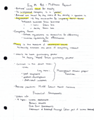 ENG M401 Midterm: eng m 401 midterm