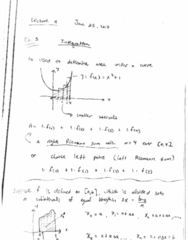 MATH 105 Lecture Notes - Lecture 11: Riemann Sum