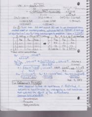 CHEM102 Lecture 11: CHEM 102 - Lecture #11 - Le Châtelier's Principle