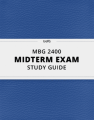 MBG 2400 Study Guide - Comprehensive Midterm Guide: Chromosome, Point Mutation, Sticky And Blunt Ends