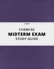 [CHEM102] - Midterm Exam Guide - Ultimate 33 pages long Study Guide!